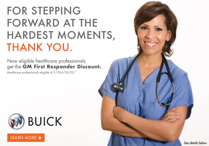 Buick Incentives for First Responders