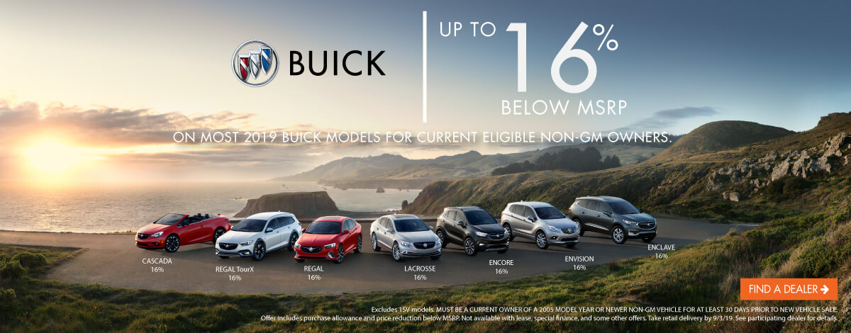 Buick Line Up