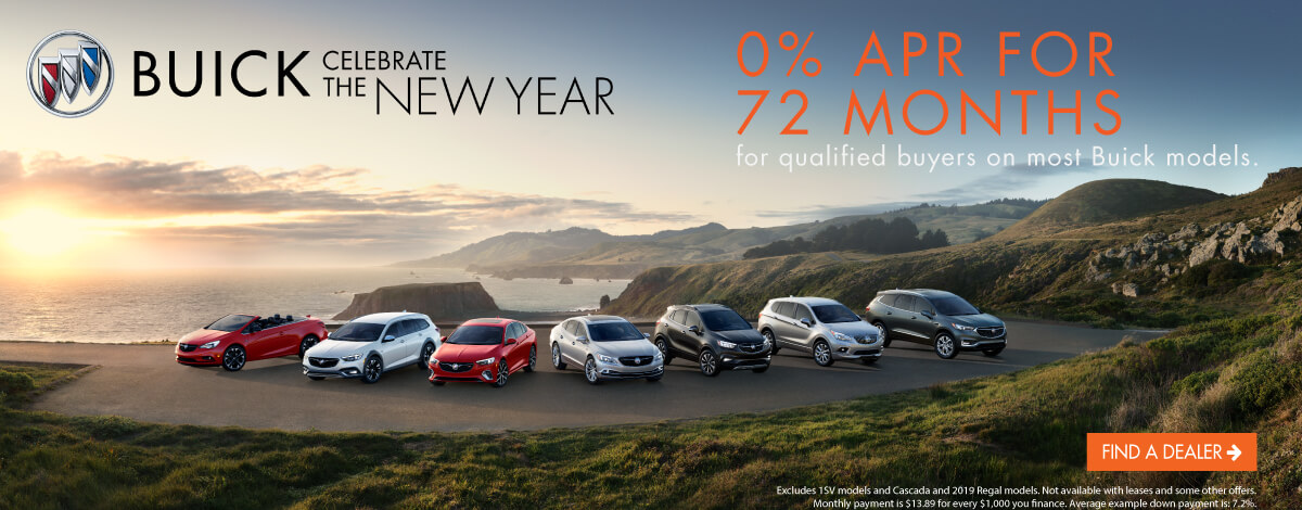 Celebrate the New Year with Buick