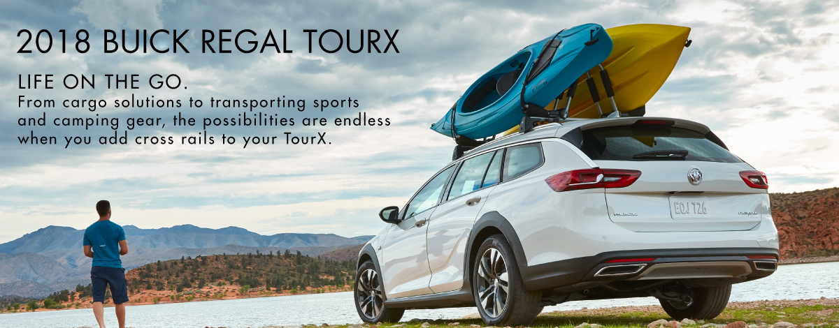 2018 Buick Regal TourX - Life on the Go