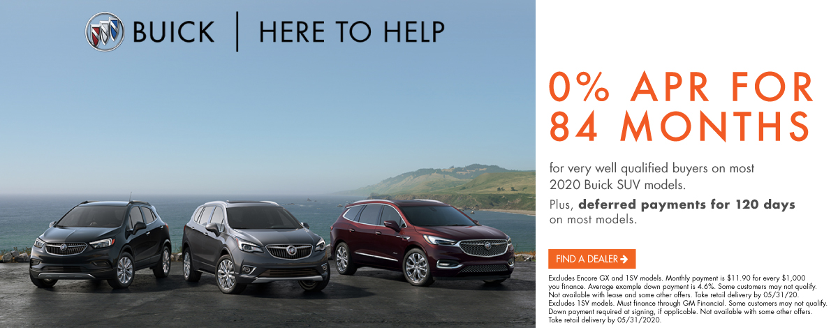 Buick 0% for 84 months incentive