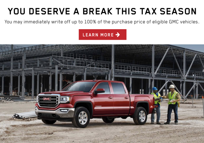 GMC Tax Incentive.