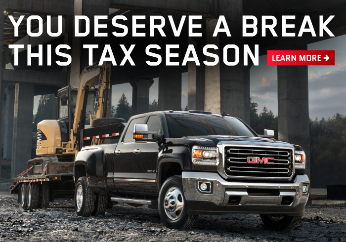GMC Tax Incentive Offer