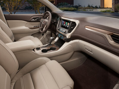 Heated and Ventilated Front Leather Seating