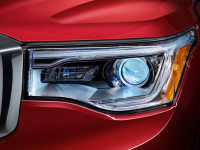 HID Headlamps with LED Signature Lighting