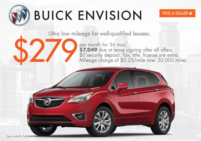 2021 Envision Lease Offer