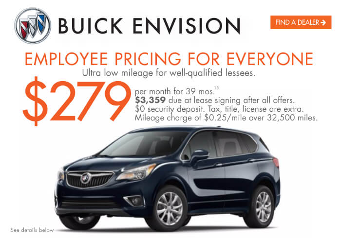 2020 Envision Lease Offer