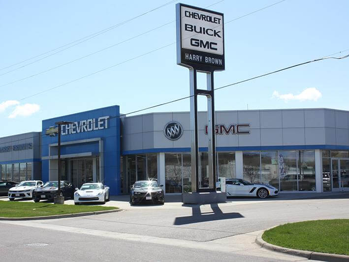 Harry Brown's Buick GMC Dealer Faribault, Minnesota