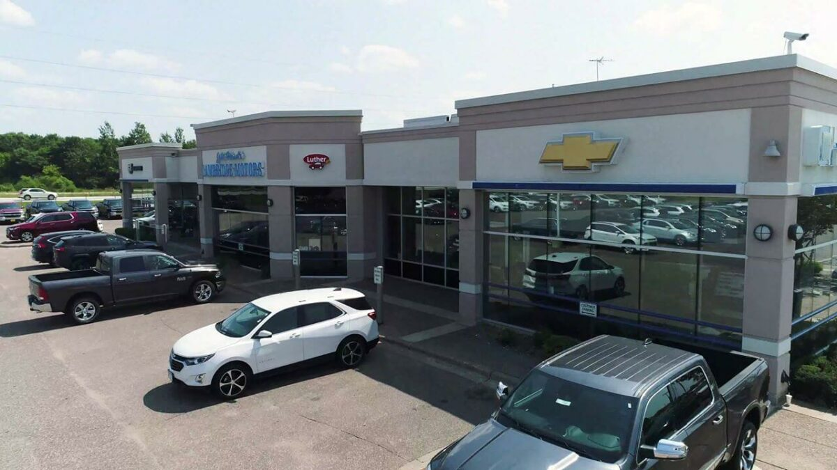 New Car Dealership Chevrolet Buick Cambridge, Minnesota