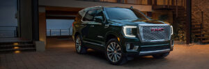 2021 Yukon Denali ready for evening out.