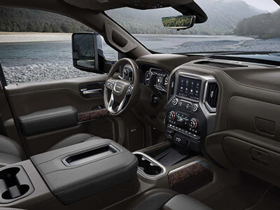 2021 Sierra HD Denali - Interior